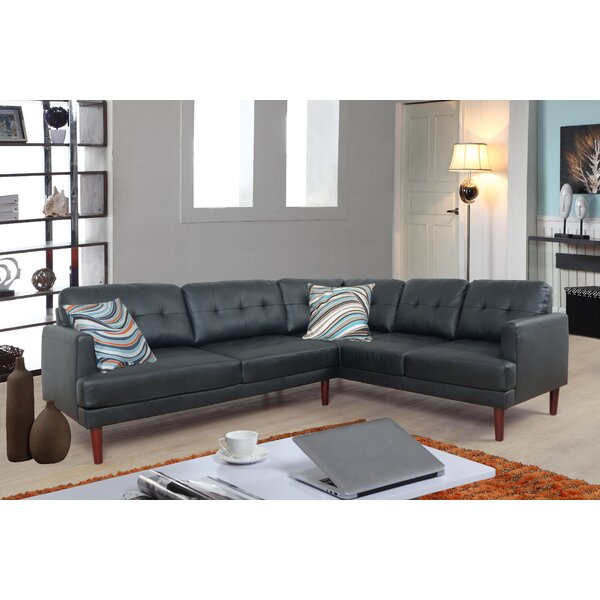 Ipock Sectional by Ebern Designs