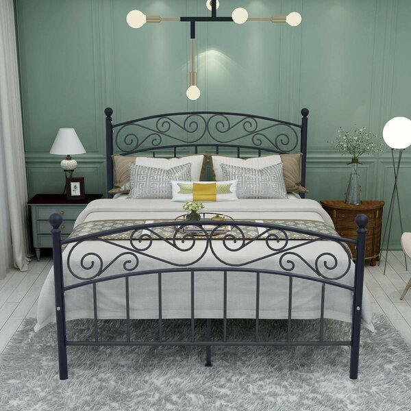Metal Platform Bed by Fleur De Lis Living