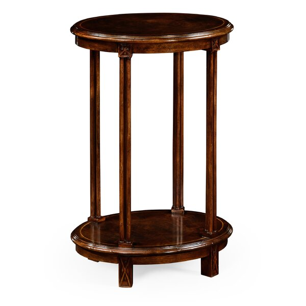 Oval End Table by Jonathan Charles Fine Furniture