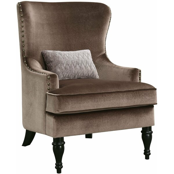 McMahon Wingback Chair by Canora Grey