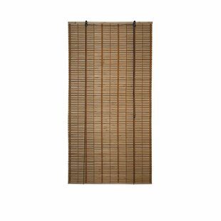 Charmant Bamboo Midollino Brown Outdoor Roll Up Shade