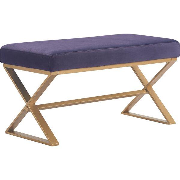Aveline Upholstered Bench by Elle Decor