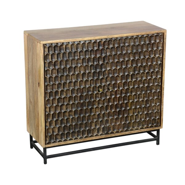 Anand 2 Door Accent Cabinet by World Menagerie World Menagerie