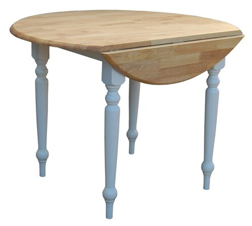 Lovely Belle Haven Double Drop Leaf Dining Table