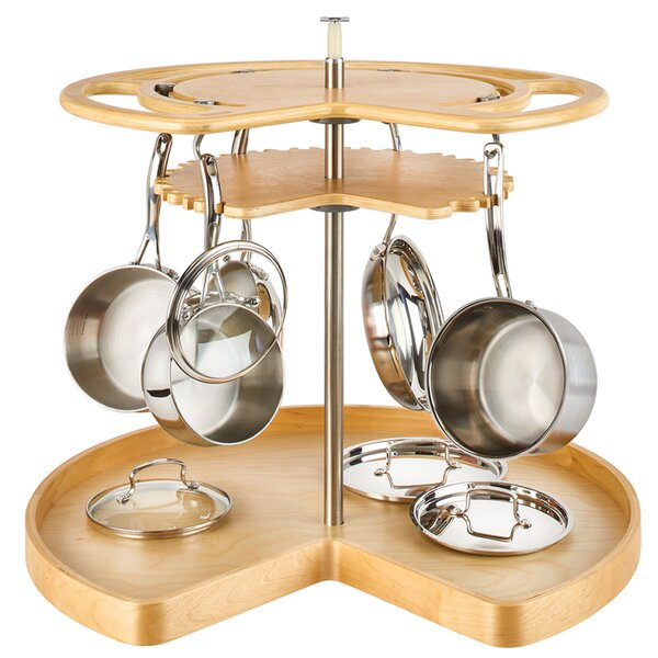 Cookware Organizer Lazy Susan by Rev-A-Shelf