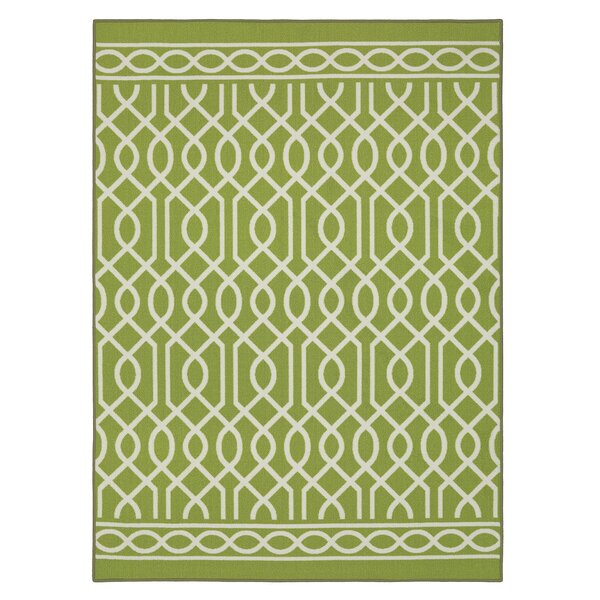 Chaunce Twisted Rope Green Area Rug by Willa Arlo Interiors