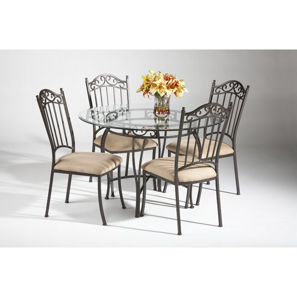 Winnie 5 Piece Dining Set by Darby Home Co