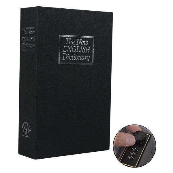 Dictionary Safe Lock Box with Key Lock by Ohuhu