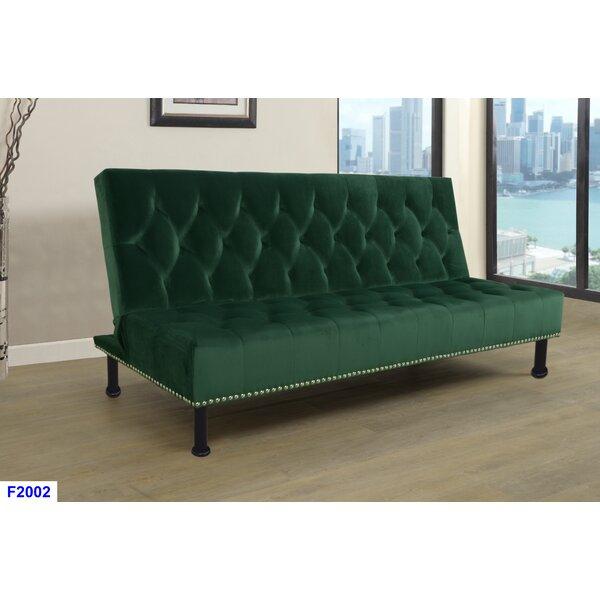 Camron Futon Bed Convertible Sofa by Winston Porter