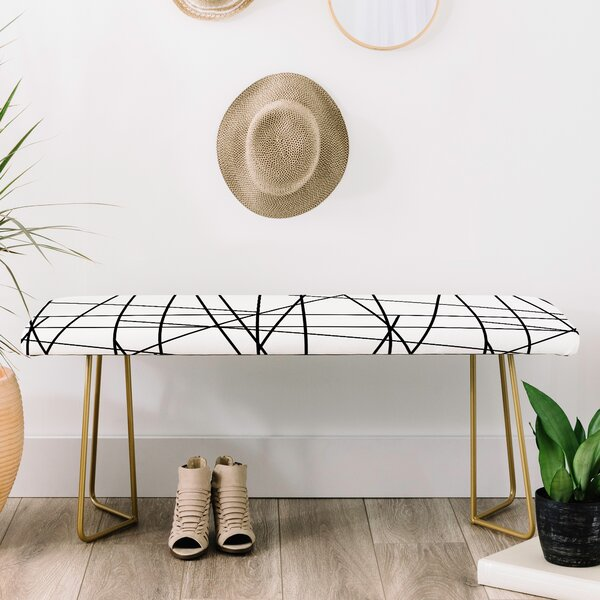 Gabriela Upholstered Bench by East Urban Home