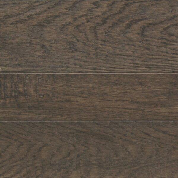 Random Width Engineered Oak Hardwood Flooring in Brown Wood by Somerset Floors