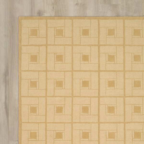 Square Knot Hand-Loomed Coarkboard Area Rug by Martha Stewart Rugs