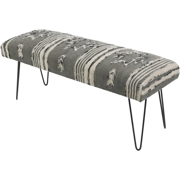 Grady Global-Inspired Upholstered Bench by Langley Street™