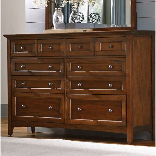 Calila 10 Drawer Double Dresser by August Grove
