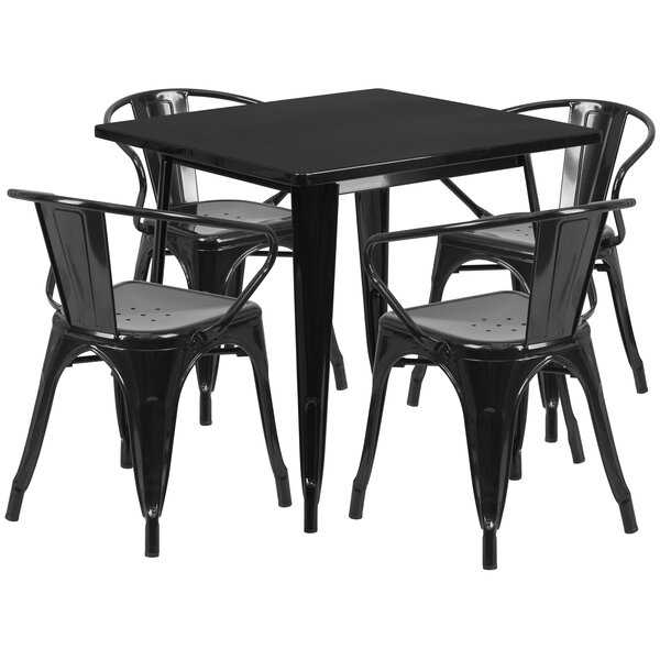 Rossiter 5 Piece Dining Set by 17 Stories