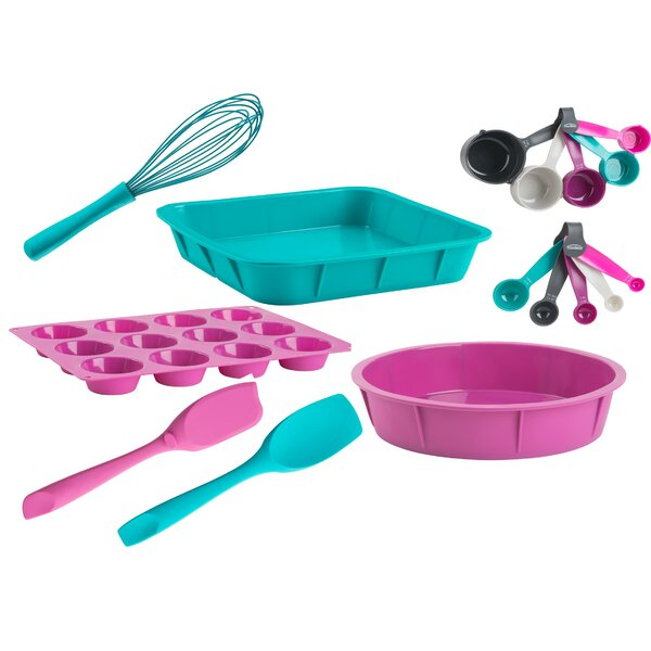16 Piece Non-Stick Better Baking Start Set by Trudeau Corporation