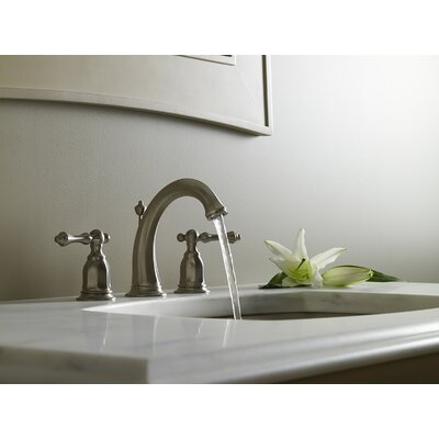 Faucet Drain Brushed Nickel photo