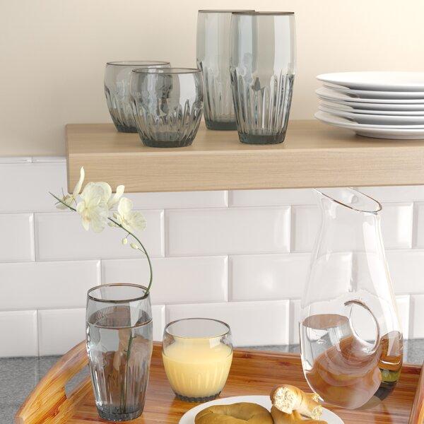 Harrell 6 Piece Plastic Assorted Glassware Set by Red Barrel Studio