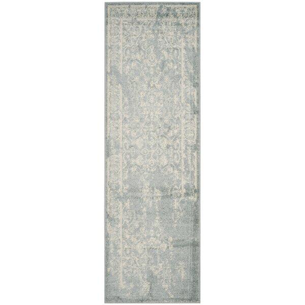 Costa Mesa Slate/Ivory Area Rug by Trent Austin Design