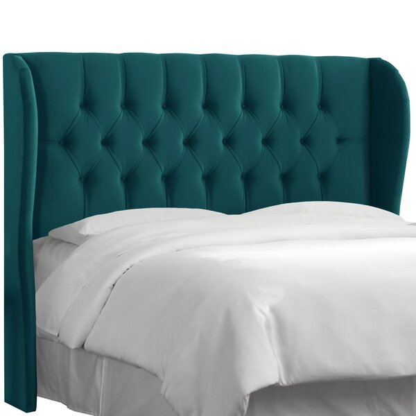 Absher Tufted Upholstered Wingback Headboard by Willa Arlo Interiors