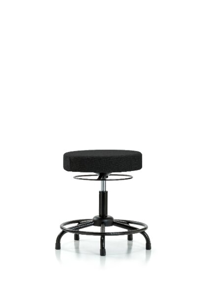 Grace Round Tube Base Height Adjustable Lab Stool by Symple Stuff
