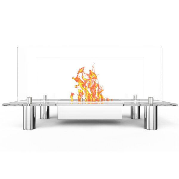 Alisha Bio-Ethanol Fireplace By Orren Ellis