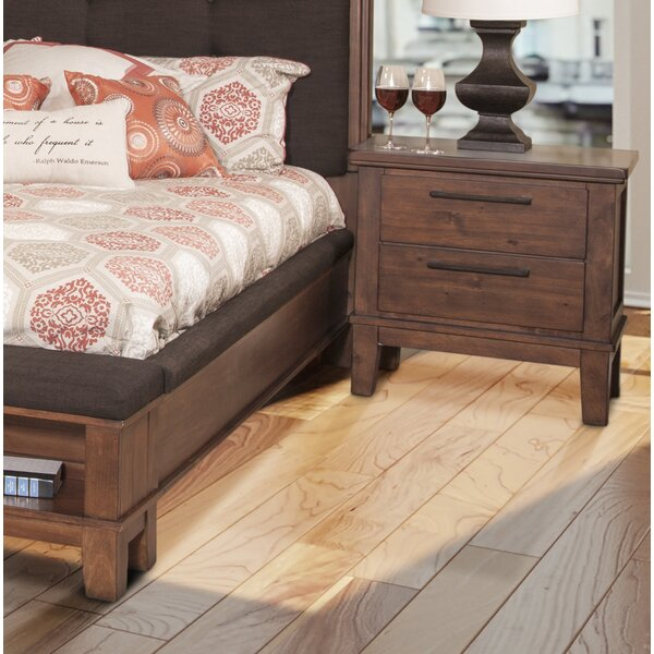 Duhon 2 Drawer Nightstand by Millwood Pines