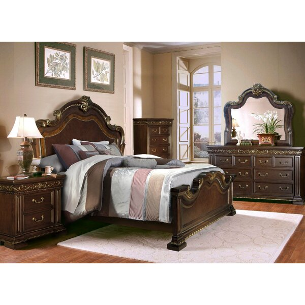Delmon King Platform 4 Piece Bedroom Set by Astoria Grand