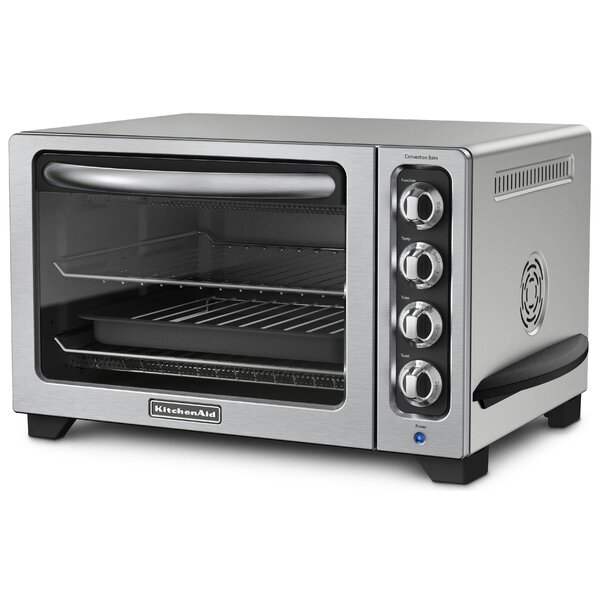Compact Countertop Toaster Oven by KitchenAid