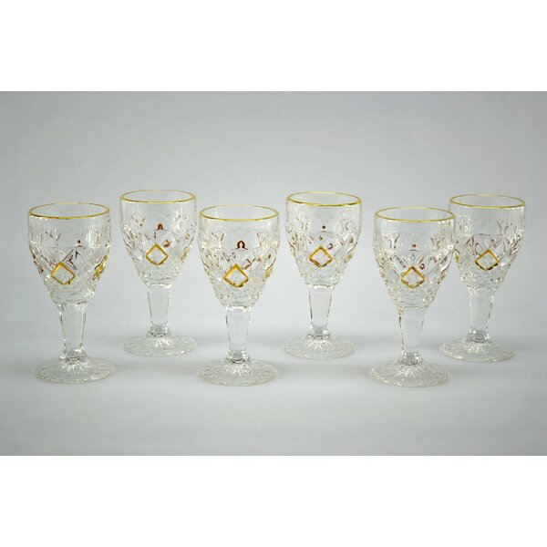 Liquor Cordial Shot Glass (Set of 6) by Three Star Im/Ex Inc.
