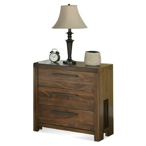 Colton 3 Drawer Nightstand by Loon Peak