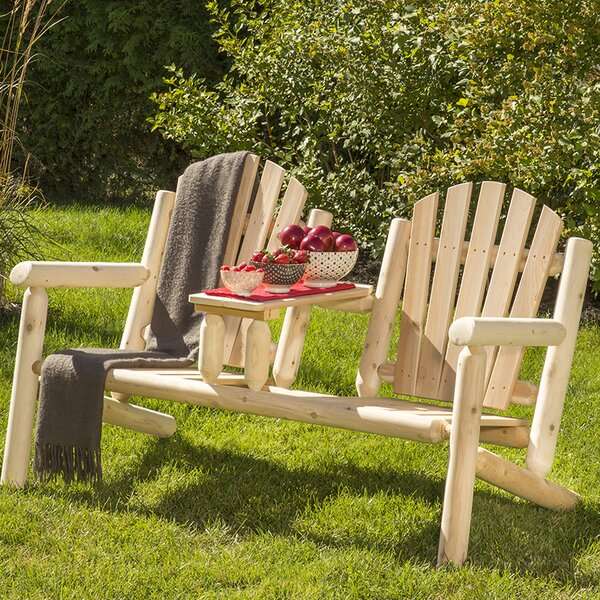 Smethwick Wood Tete-a-Tete Bench by Loon Peak