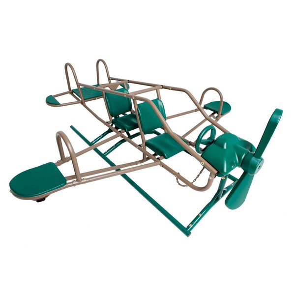 Earthtone Ace Flyer Airplane Teeter-Totter by Lifetime