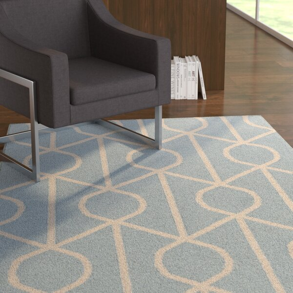 Murrill Light Blue Area Rug by Ebern Designs