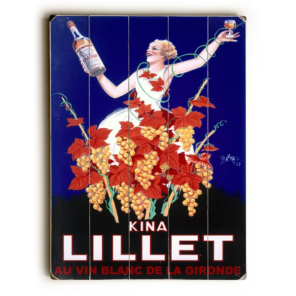 Lillet Vintage Advertisement by Charlton Home