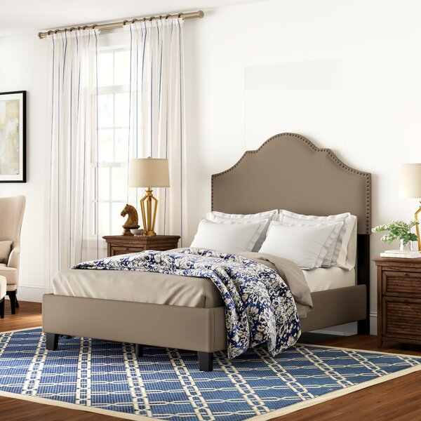 Galesburg Queen Upholstered Standard Bed by Three Posts