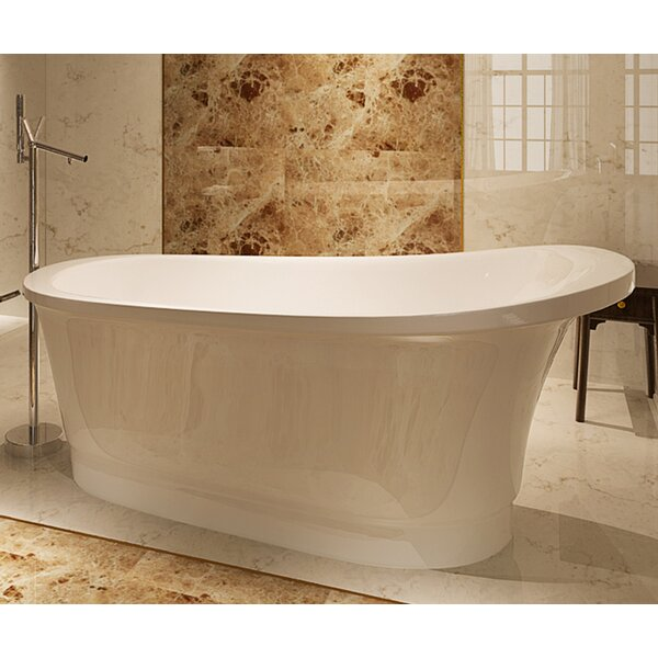 HelixBath Olympia 67 x 31.5 Soaking Bathtub by Kardiel