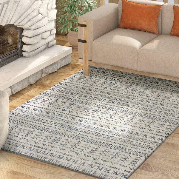Kaylin Tulum Ivory Area Rug by Union Rustic