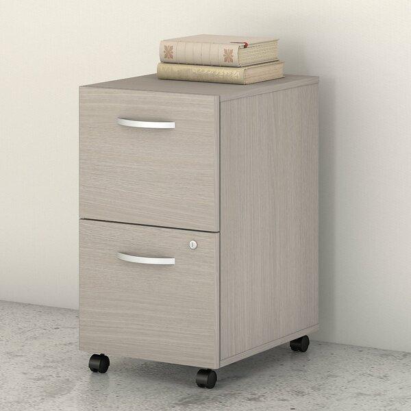 Studio C 2-Drawer Mobile Vertical Filing Cabinet