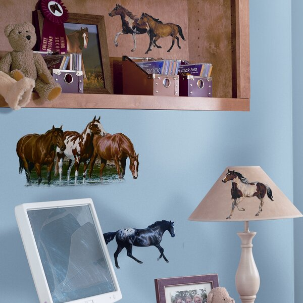 Studio Designs 24 Piece Wild Horses Wall Decal by Room Mates