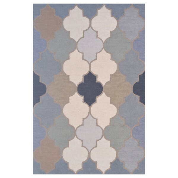 Wool Hand-Tufted Green/Blue Area Rug by Eastern Weavers