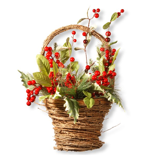 Holiday Basket by National Tree Co.