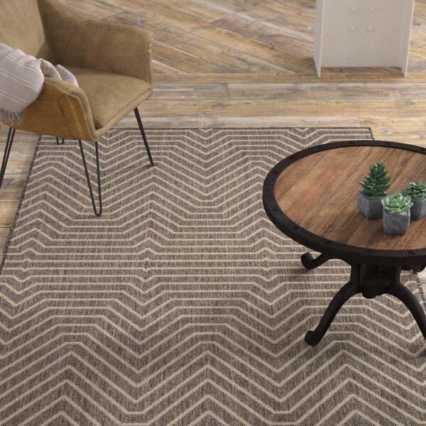 Clarion Dark Gray Indoor/Outdoor Area Rug by Williston Forge