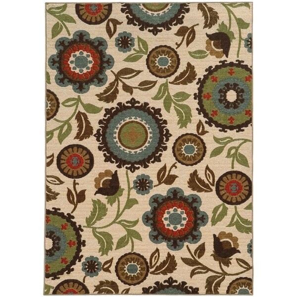 Roger Ivory Area Rug by Threadbind