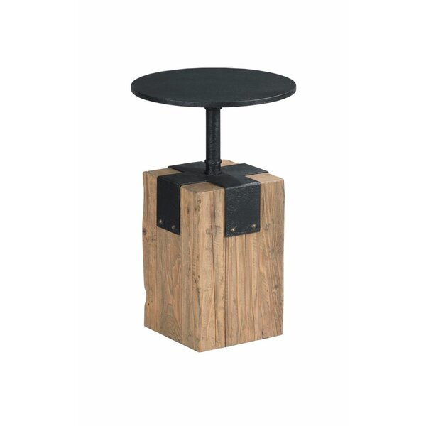Ciaran Ironwork Spot End Table by Williston Forge