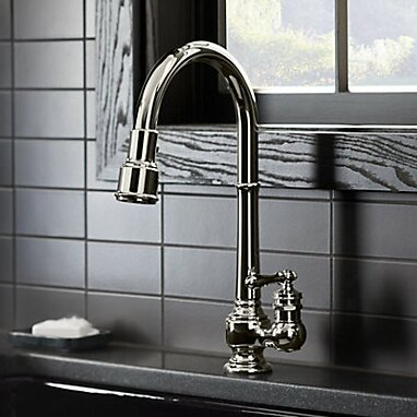 Sink Faucet Single Kitchen Magnetic Docking System photo