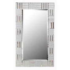 Gray Wall Mirror modern gray wall mirrors | allmodern