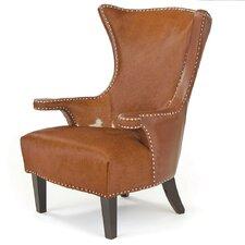 Premium Wing back Chair by Loon Peak
