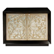 Mirrored 2 Drawer Cabinet by Bradburn Home