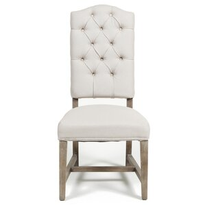 reina tufted side chair set of 2